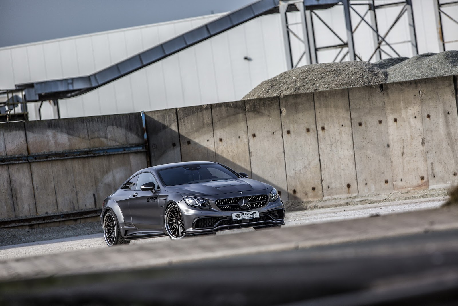 Mercedes C Class Coupe >> Modifikasi Mercedes Benz C Class Coupe Lebih Agresif By