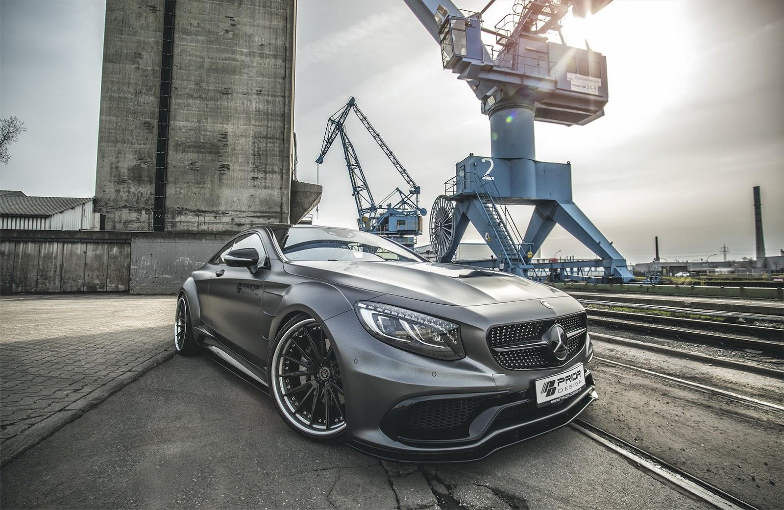 Mercedes C Class Coupe >> Modifikasi Mercedes Benz C Class Coupe Lebih Agresif By