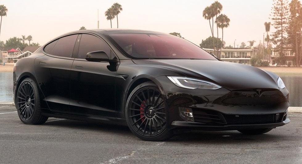 Modifikasi Tesla Model S P100d Lebih Segar Dengan Warna Hitam Blackxperience Com
