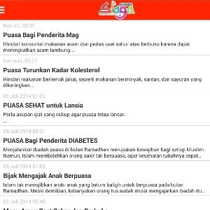 Aplikasi Android Informatif Penyambut Bulan Ramadhan dan Mudik