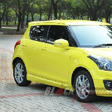 Front View Suzuki Swift Sport