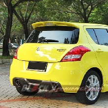 Rear View New Suzuki Swift Sport
