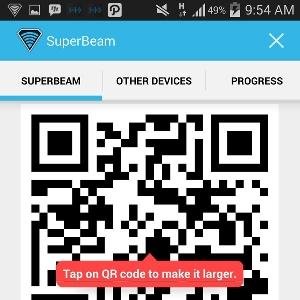 SuperBeam - Memindai QR Code (2)
