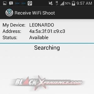 WiFi Shoot - Perangkat yang Terdeteksi