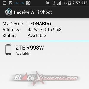 WiFi Shoot - Pencarian Device