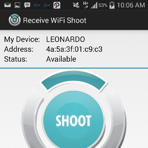 WiFi Shoot - Layar Transfer