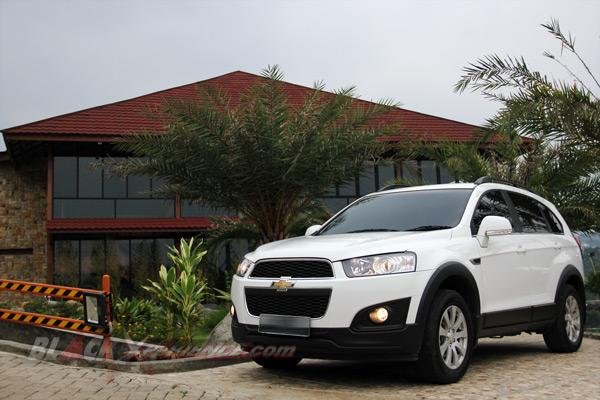 Chevrolet Captiva Kembali dengan Minor Change