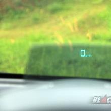Melihat Kecepatan Mobil di Kaca Depan