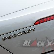 Identitas Peugeot di Bagian Belakang