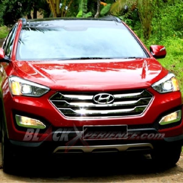 Test Drive Hyundai Santa Fe Bensin Lebih Lembut