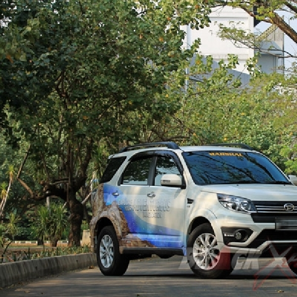 Test Drive Daihatsu New Terios R Adventure