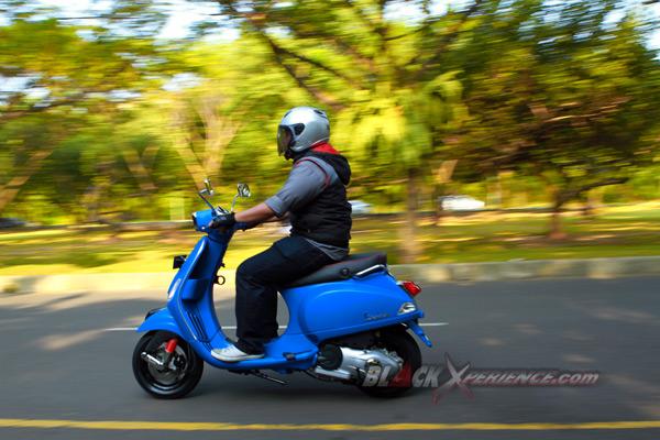 Test Ride Vespa S 125 Si Lincah Nan Imut