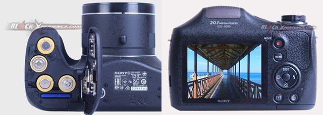 Sony Cybershot H300, Kamera Hemat Lensa Tele