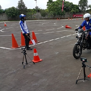 26 Anggota Club Motor Honda Ikut Kompetisi Safety Riding
