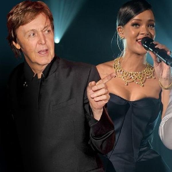 Paul McCartney Rihanna dan Kanye West Kolaborasi Lintas Generasi