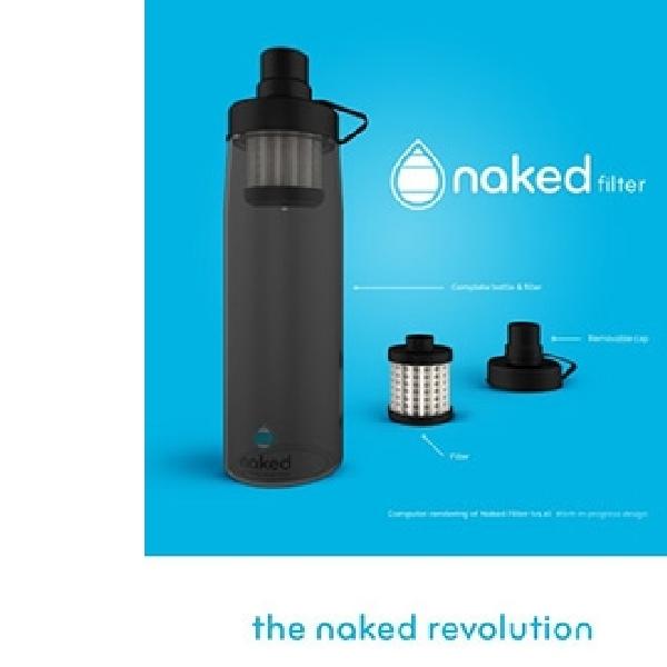 Naked Filter, Botol Higienis Bunuh 99 Persen Kuman