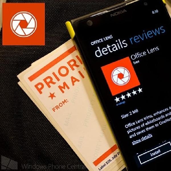 Aplikasi Microsoft Office Lens Jadi Scaner Saku Powerfull