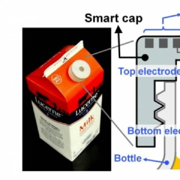 Tutup Botol Pintar Mampu Indikasi Susu Basi