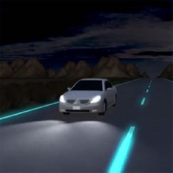 Jalan Tol Glow In The Dark, Hemat Daya dan Tinggi Keselamatan
