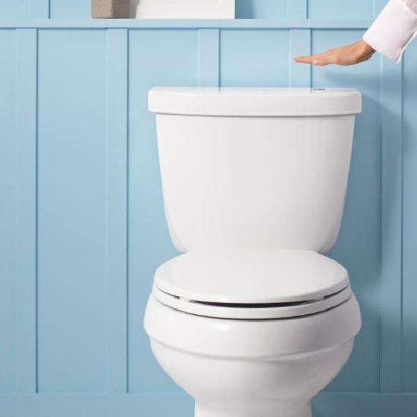 Kohler Touchless bebaskan tangan ketika hendak Flush Toilet