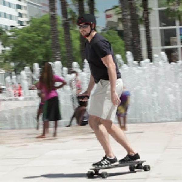 Skateboard Elektrik Marbel, Solusi Menerobos Kemacetan