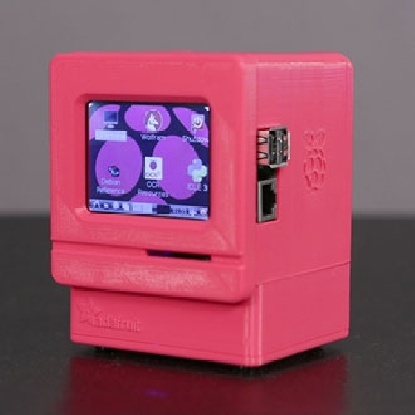 Komputer Mac Pi dibuat dari Printer 3D