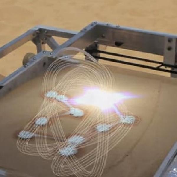 Ajaib, Printer 3D Ini Lelehkan Pasir Untuk Jadi Bahan Cetak
