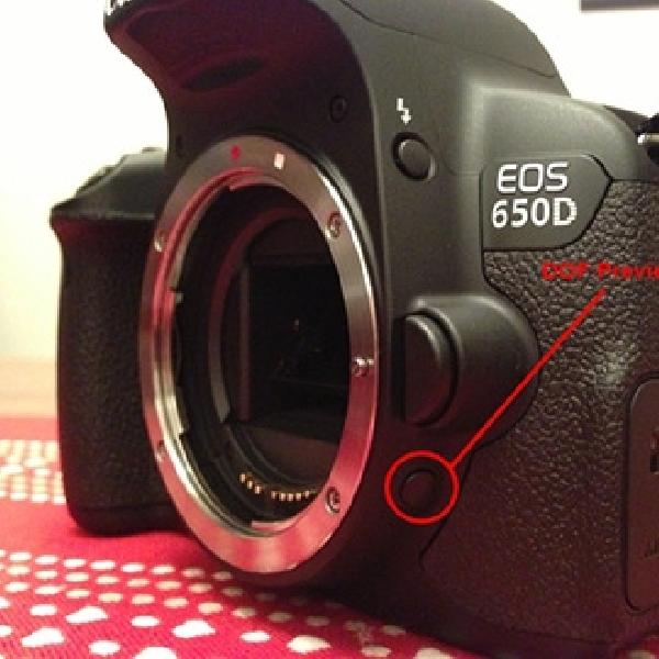Cara Menggunakan Tombol Preview Depth-of-field Di Kamera DSLR