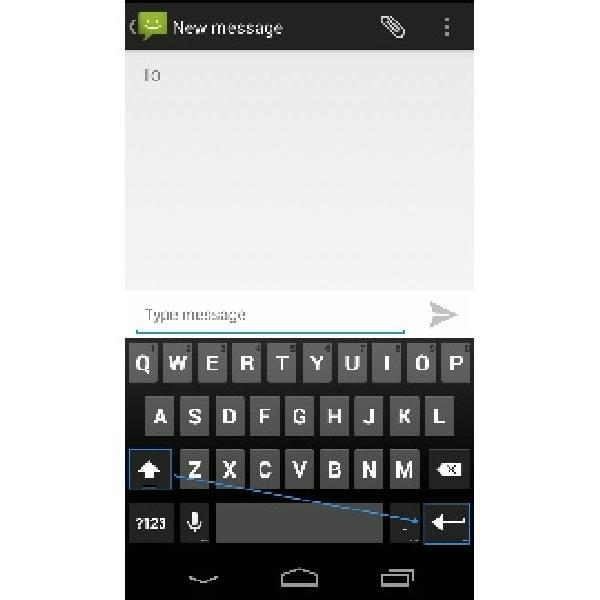 Inilah Cara Menampilkan Tombol Enter Pada Aplikasi Pesan Singkat Android