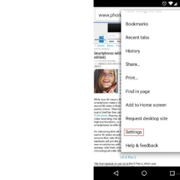 Cara Ubah Ukuran Teks Default Google Chrome di Android