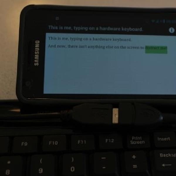 Trik Menggunakan Keyboard dan Mouse USB ke Smartphone atau Tablet Android