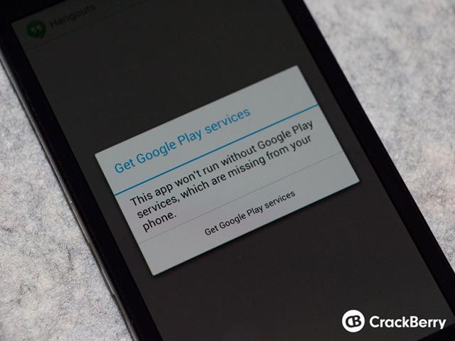 Begini Cara Instal Google Play Store di BlackBerry