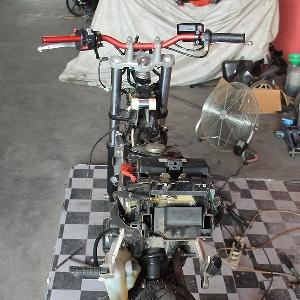 Tampak buritan Honda CS One