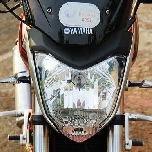 Headlamp milik Yamaha Byson