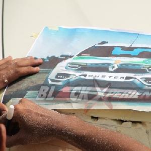 Sketsa modifikasi sporty Renault Duster