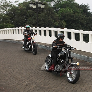 Test ride Harley-Davidson Softail EVo