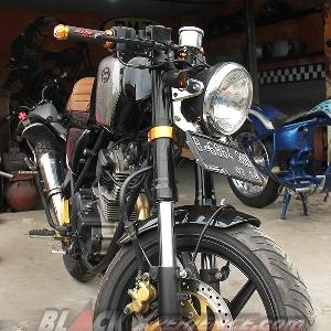 Yamaha Scorpio Cafe Racer, salah satu koleksi BMT