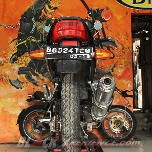 Motor target modifikasi, Yamaha Scorpio sebelum dibongkar