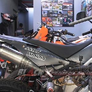Deretan rangka dan motor-motor modifikasi Caos Custom Bike