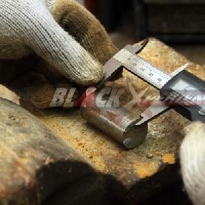 Mengukur ulang bahan pembuatan bosh