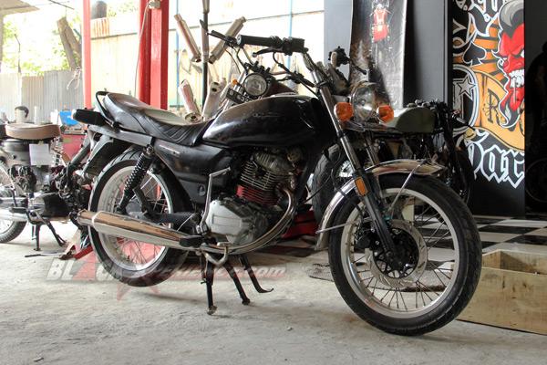 Kondisi awal motor Honda GL Max