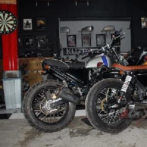 Beberapa motor modifikasi karya Nin *Rocksta