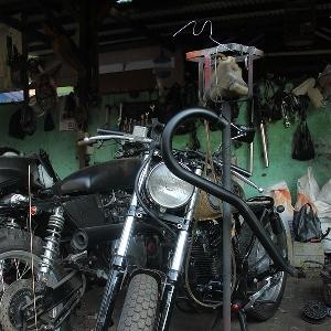 Motor-motor modifikasi yang siap selesai