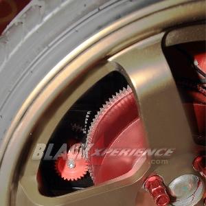 Gear transfer penggerak roda belakang, untuk mesin hybrid