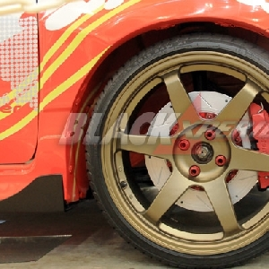 Disc brake lebar memperkokoh tampilan kaki-kaki