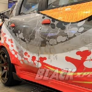 Airbrush bergambar kepualauan Indonesia