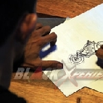 Cara Nin *Rocksta Memodifikasi Honda GL Max Bergaya British Chopper