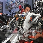 Perakitan Awal Yamaha V-Ixion Supermoto