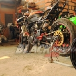 Chemonk Modified Bangun Kawasaki Ninja RR150