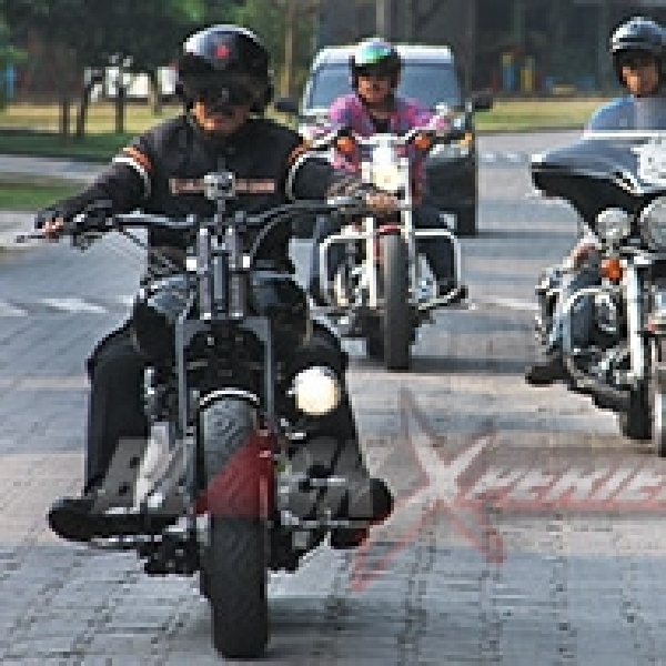 Final Modifikasi Harley-Davidson Softail EVO Tut-tut Train